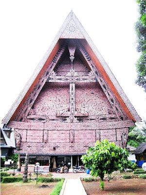 Desain Rumah Adat Sumatera Utara