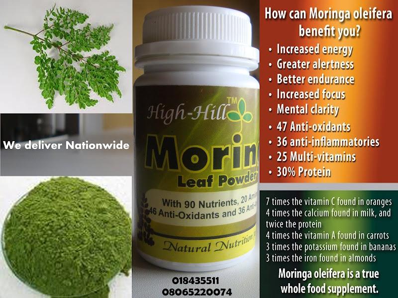 HIGHHILL MORINGA: Moringa Extract: Added Control of Herpes