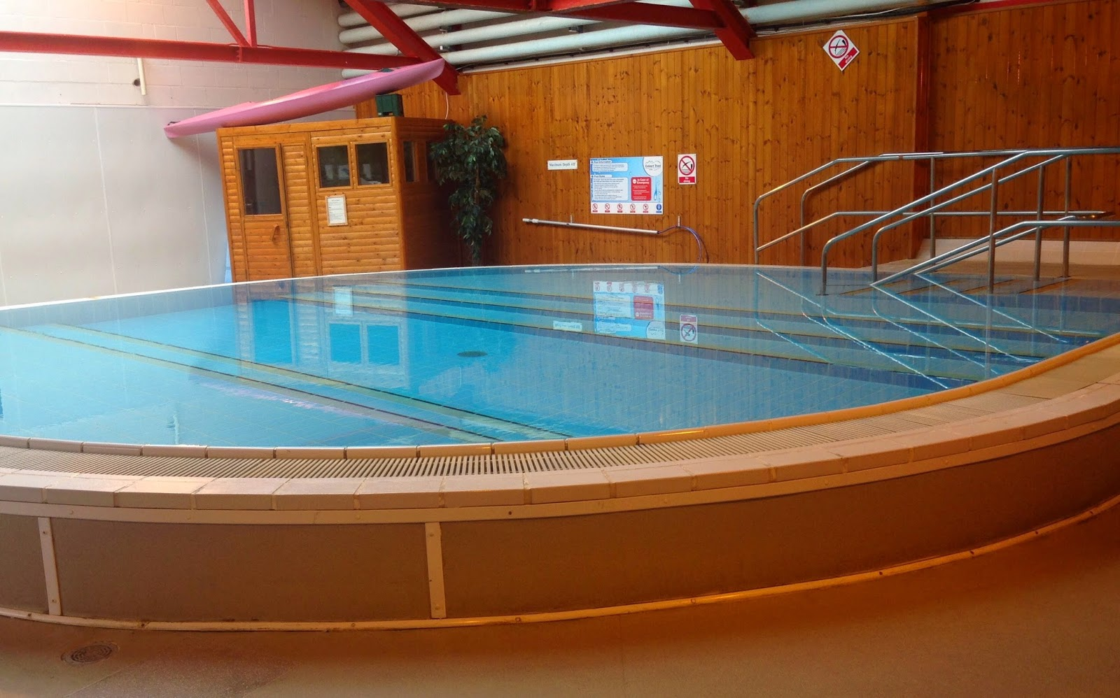 Hydrotherapy pool at The Calvert Trust, Kielder - A review