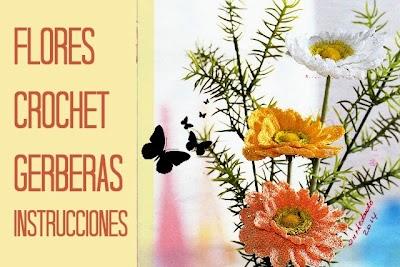 Flores Crochet Primavera instrucciones