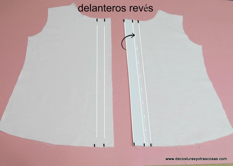 blusa con botones ocultos