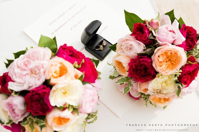 Same sex wedding ceremony Praiano