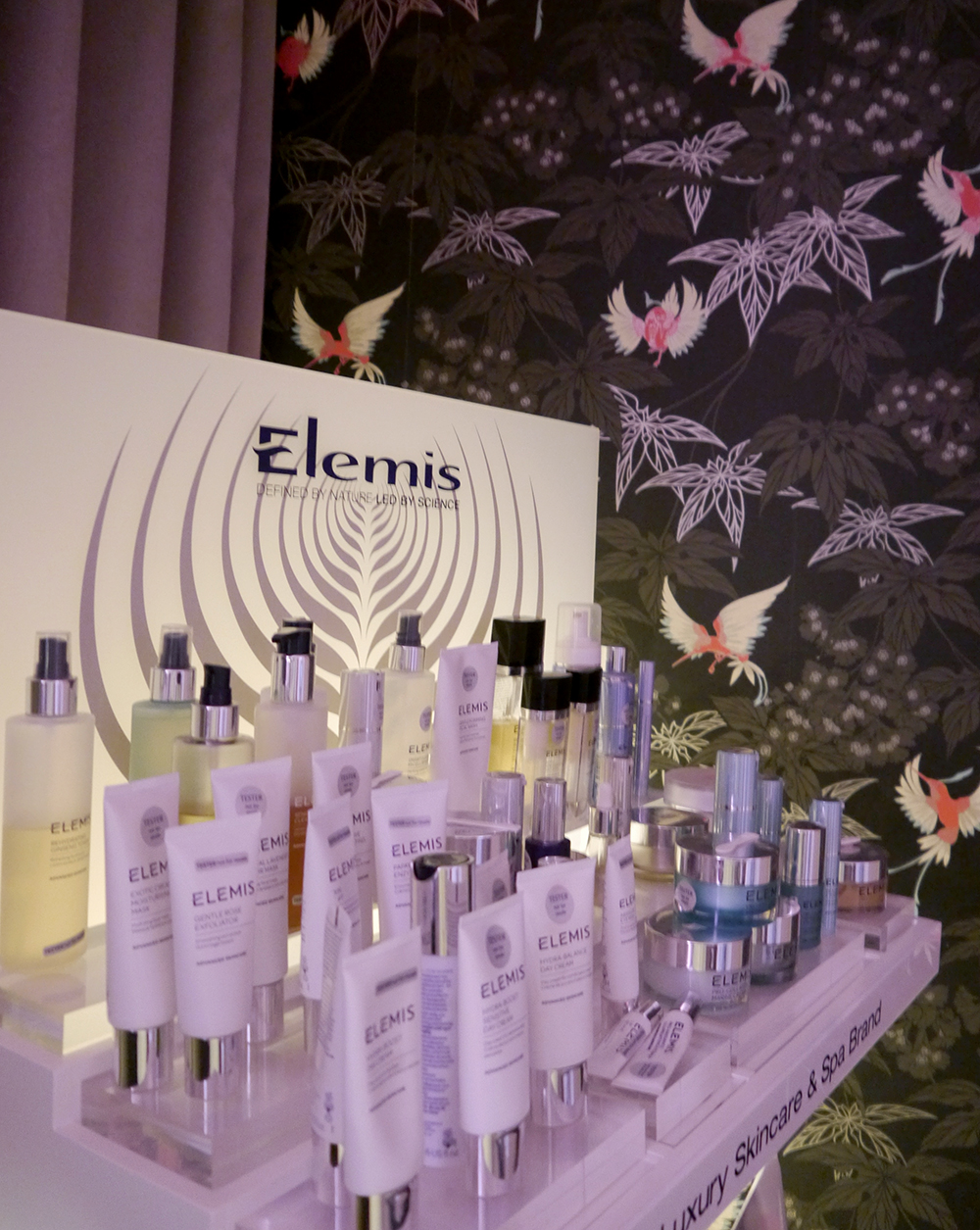 Elemis products in the You Spa