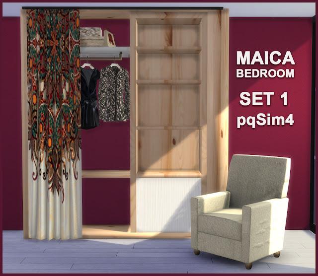 Armario y sillón Maica 7
