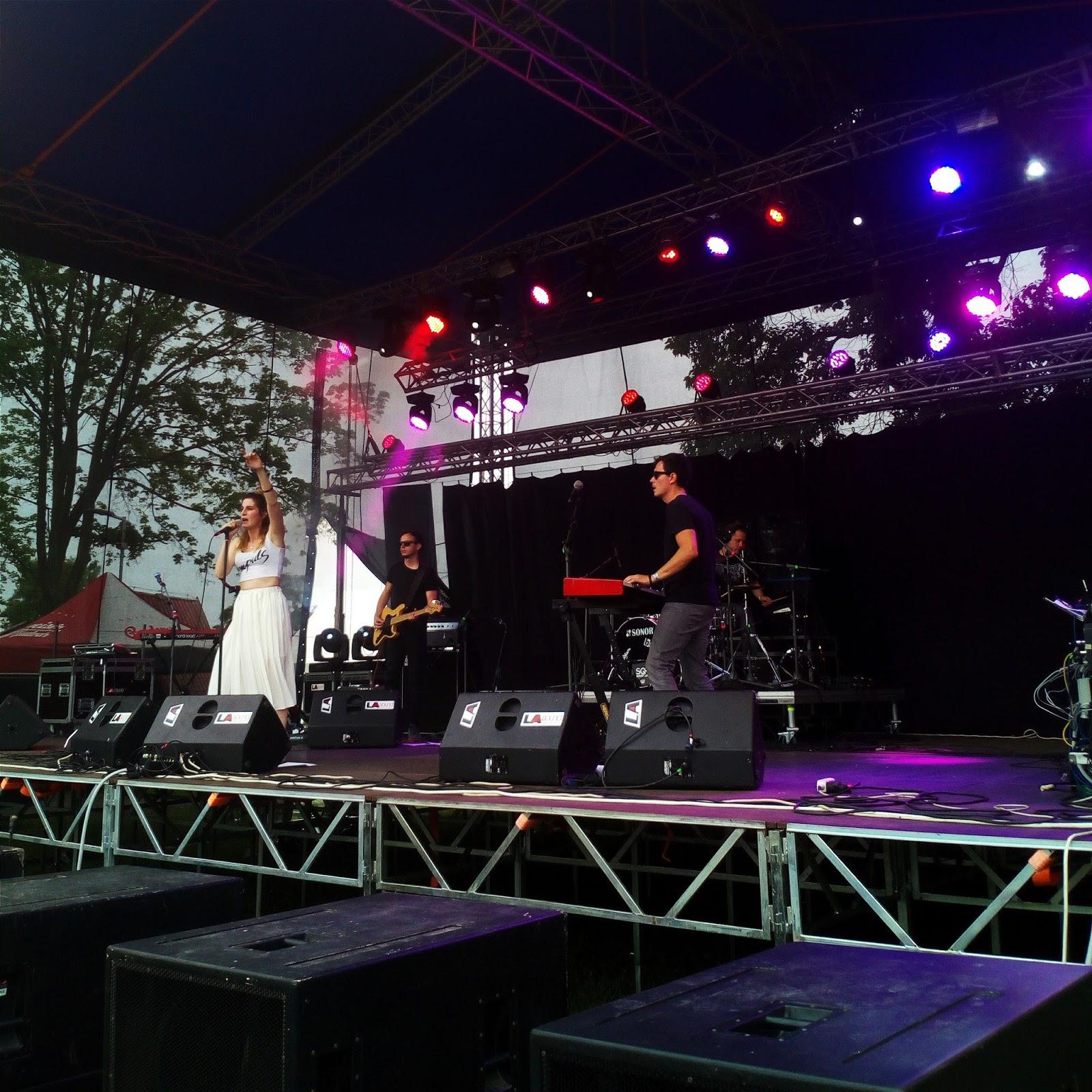 KLARA Vytisková na festivalu Fingers Up v Mohelnici