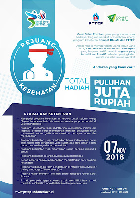 Pejuang Kesehatan 2018 PTTEP Indonesia - Dompet Dhuafa