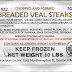 R&R Provision Company Inc. Recalls 23,040 lbs of Misbranded Veal