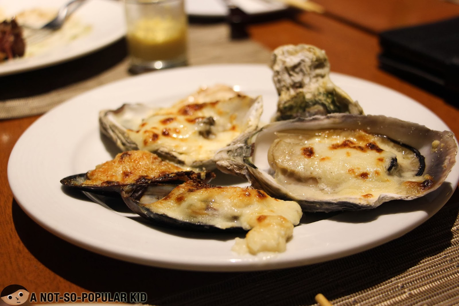 The Baked Oyster of Basix - Delightfully Fresh!