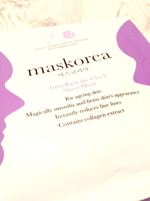 Turn Back The Clock Sheet Mask by Maskorea