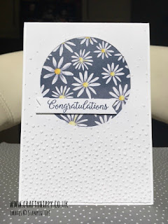 Check out this Delightful Daisies Designer Series Paper card by Stampin' Up!