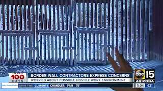Border Wall Contractors Brace For Hostile Environment