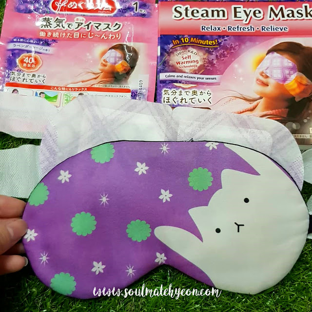 Review; Kao MegRhythm's Steam Eye Mask Lavender Sage Scent