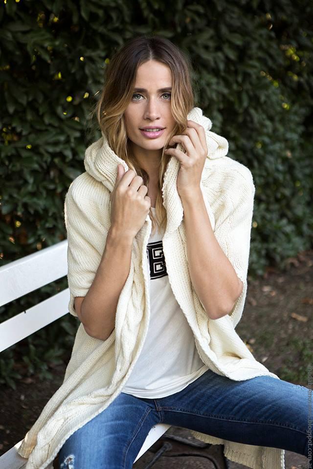 Chaleco tejidos Milana Sweaters otoño invierno 2016. Ropa de moda invierno 2016.