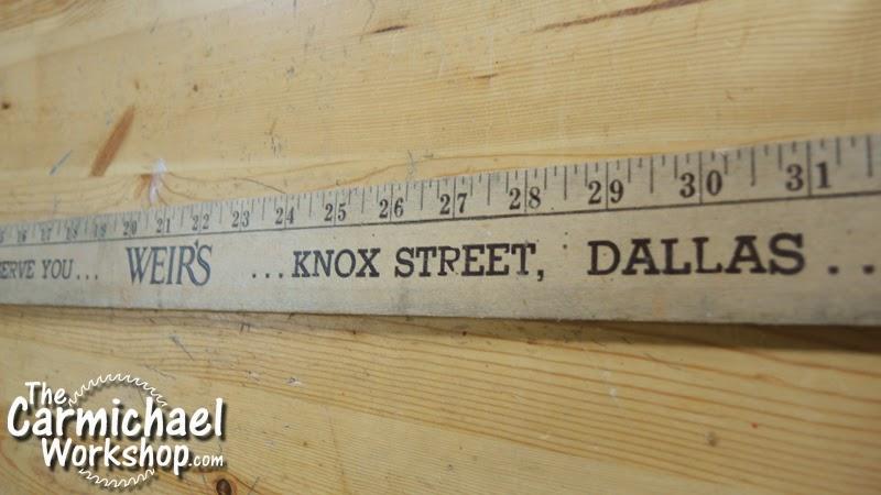 The Carmichael Workshop Do You Have Any Wooden Yardsticks