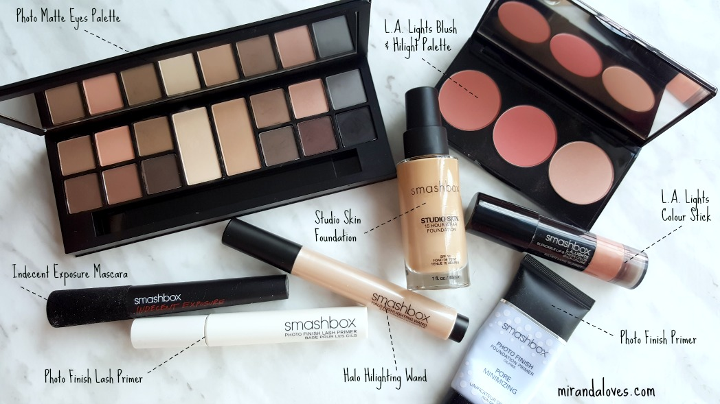 Review  Tutorial SmashBox Photo Matte Eyes Palette and