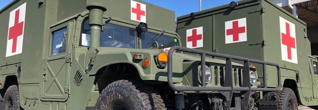 медичні Humvee