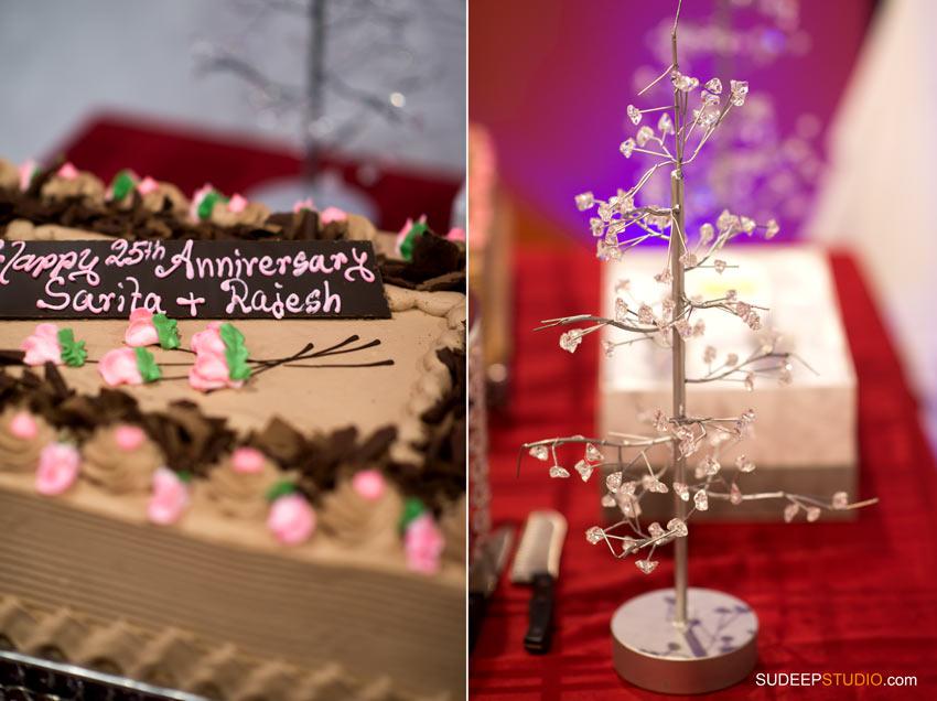 Indian Wedding Anniversary Party Decoration - SudeepStudio.com ann Arbor Wedding Photographer