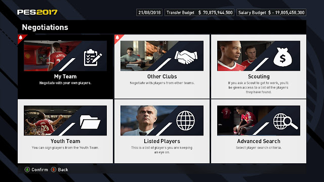 قنبلة : ثيم خرافي للعبة PES 17 يجمع بين جمالية FIFA و أناقة PES | مميز للغاية