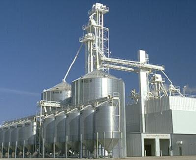 Grain Silos in Bangladesh