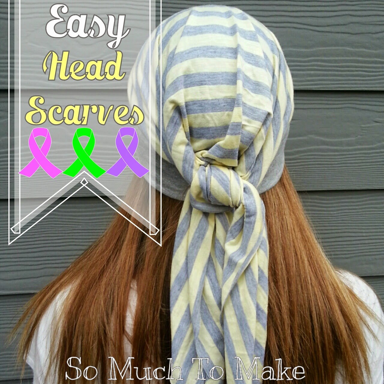 Easy Head Scarves Sewing Tutorial   So Much To Make