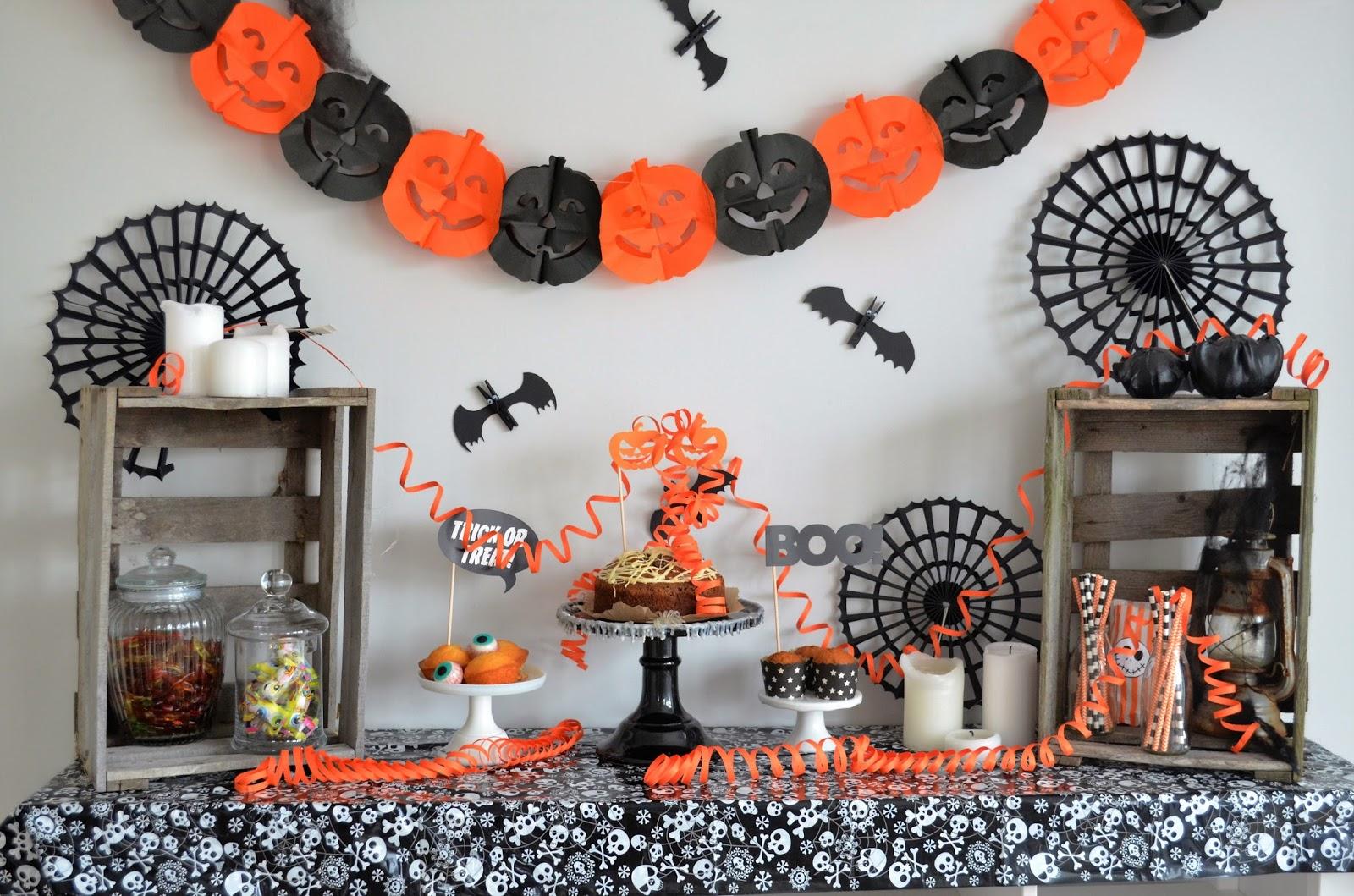 Halloween Buffet Ideen