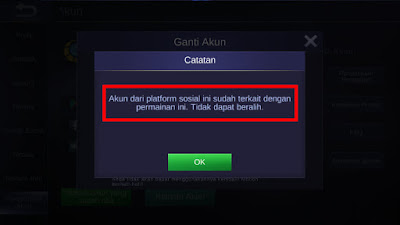 Error Mobile Legend
