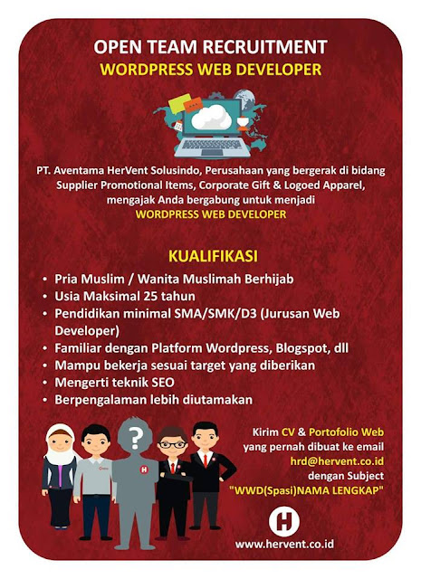 Loker Web Developer Bandung