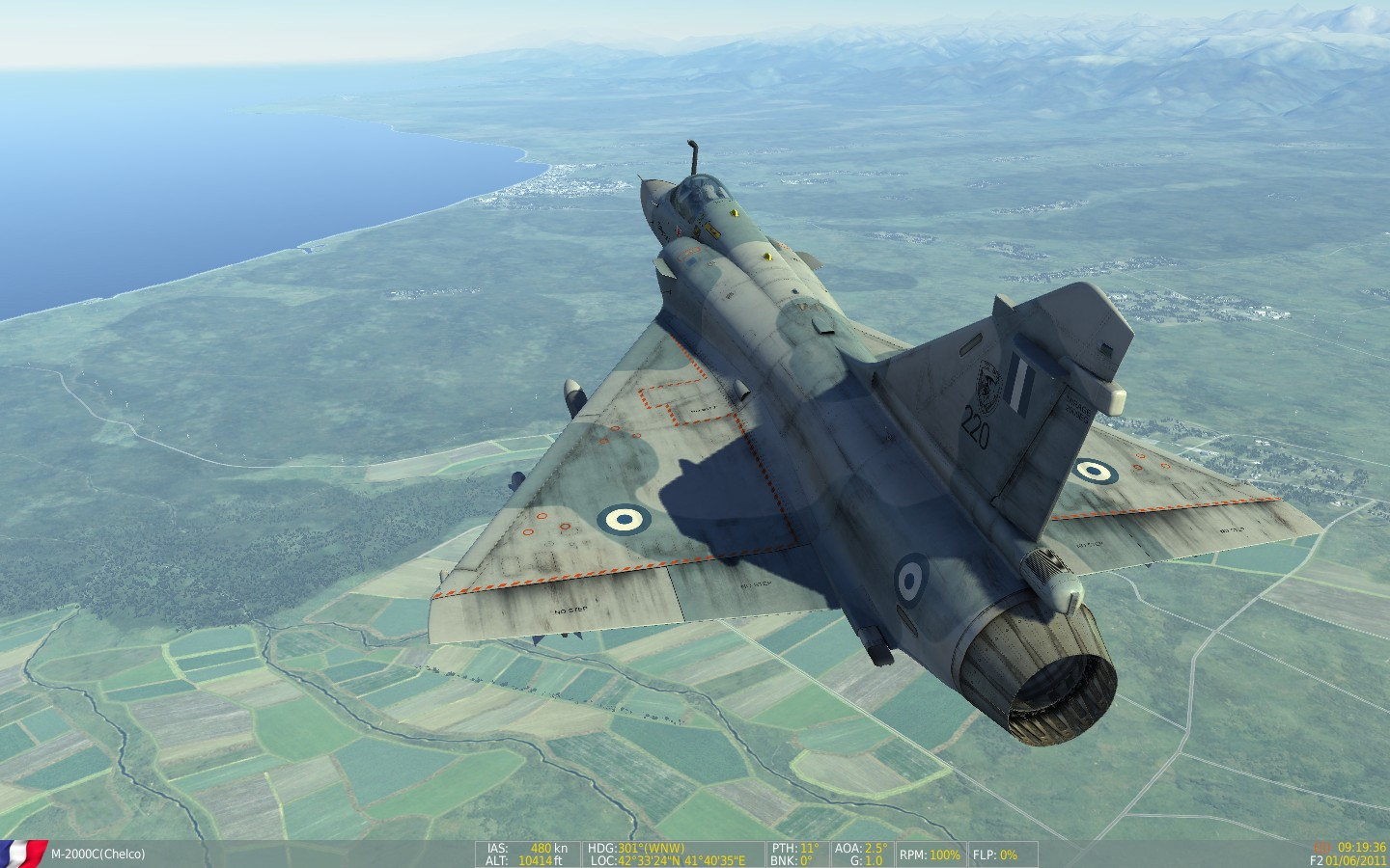 Real and Simulated Wars: Mirage M-2000Cs for DCS World