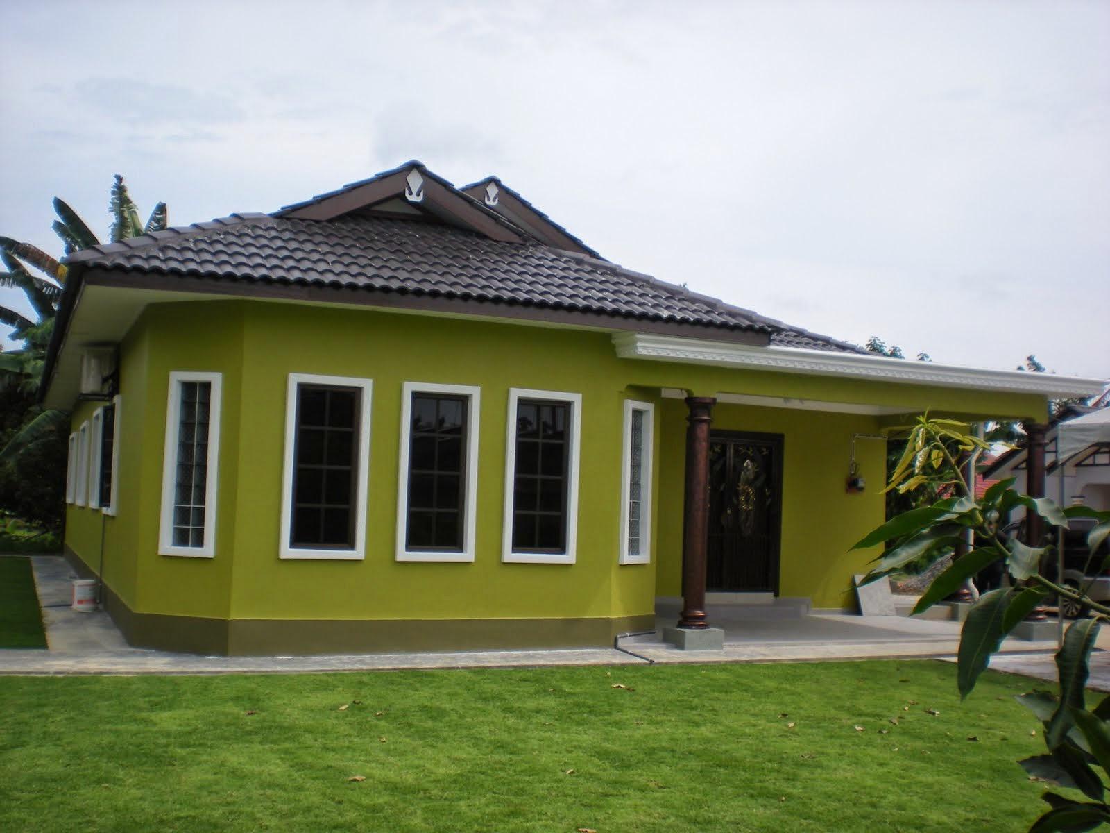 Rumah Warna Cat Coklat Muda - Rumah Minion