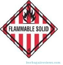Flammable Solid (padatan mudah terbakar) - berbagaireviews.com