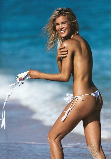Joy Corrigan racy swimwear photoshoot for Luxe Cartel bikini models