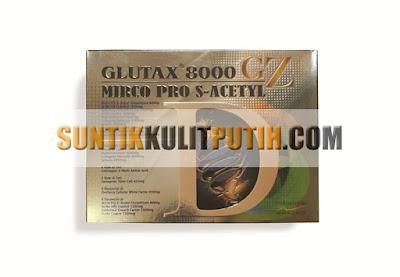 Glutax 8000GZ Micro Pro S-Acetyl, Glutax 8000GZ, Glutax 8000 GZ Micro, Glutax 8000GZ asli, Glutax 8000GZ Murah, Glutax 8000GZ Original, Glutax 8000GZ Injeksi, Suntik Putih Murah Glutax 8000GZ