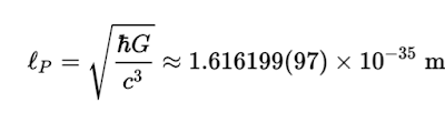 Longitud de Planck