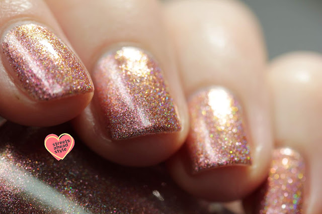 Girly Bits Girl, It's Not You swatch by Streets Ahead Style