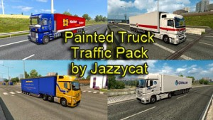 Jazzycat – Painted Truck Traffic Pack 5.9