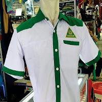 Jual Seragam PKD GP Ansor NU Putih-Hijau