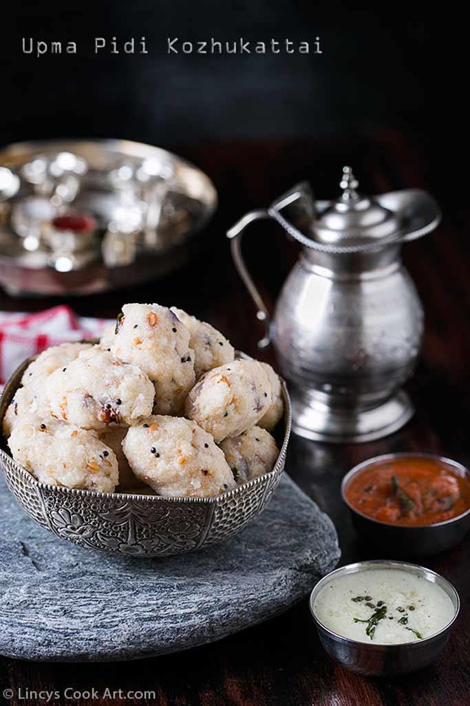 Rice Rava Kara Pidi kozhukattai