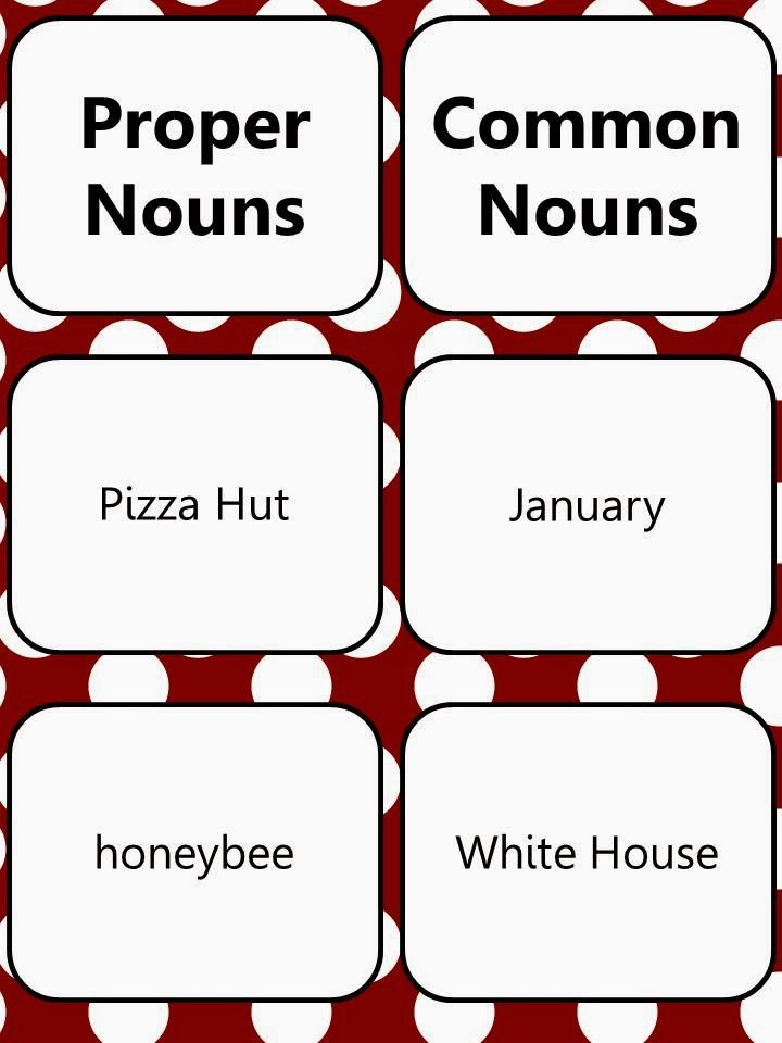 http://www.teacherspayteachers.com/Product/Common-and-Proper-Nouns-Pack-1087289