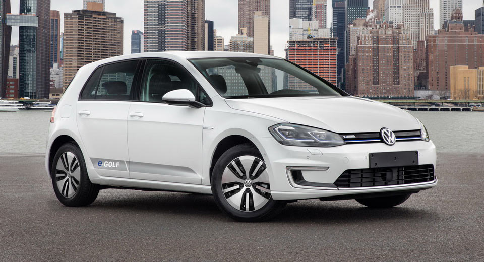VW e-Golf with upgraded battery pack starts at $31315
