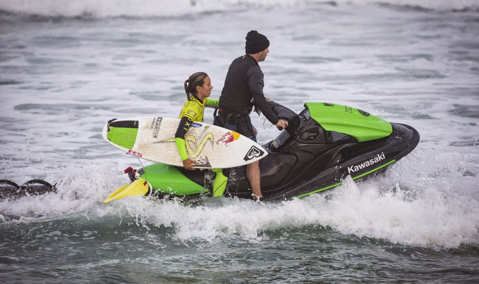 Roxy Pro France 2014 Sally Fitzgibbons Foto ASP