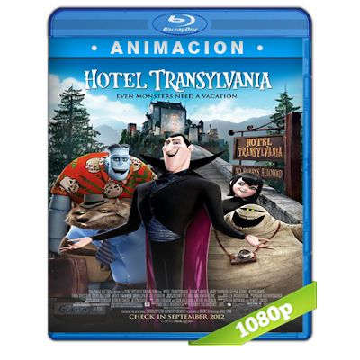 Hotel Transylvania (2012) BRRip Full 1080p Audio Trial Latino-Castellano-Ingles 5.1