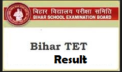 BETET Results Check Bihar TET Result Online Name Wise Cut Off