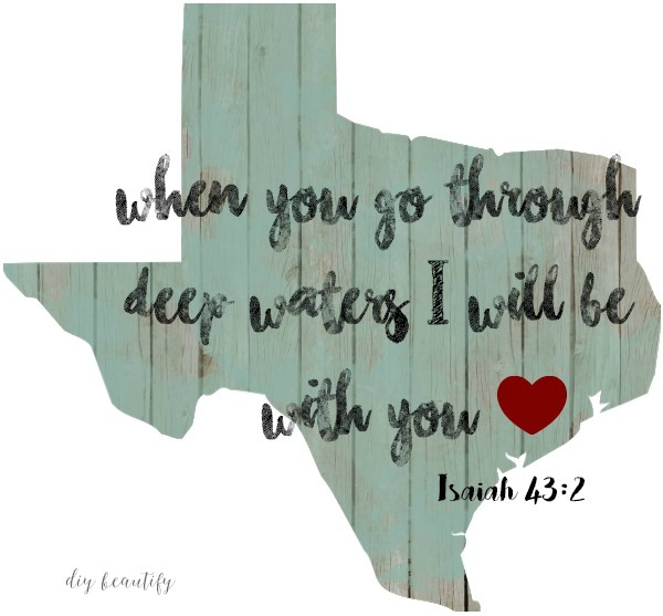 continue to pray for Texas