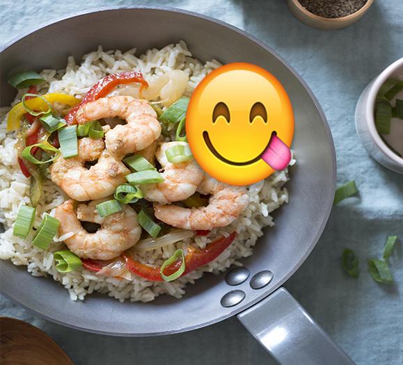 الرز المقلي مع الجمبري ... حضري طبق المطاعم الفاخرة في بيتك بمكونات بسيطة.