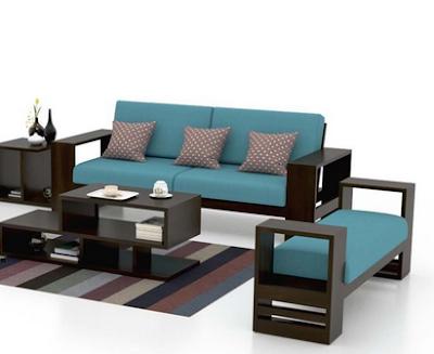Inpirasi 7 desain kursi tamu minimalis modern dari kayu untuk membuat ruang tamu lebih indah