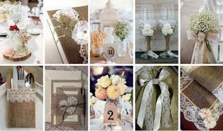 8c4ee15f6ffe 50+ Iδέες Διακόσμησης Γάμου με λινάτσα   δαντέλα