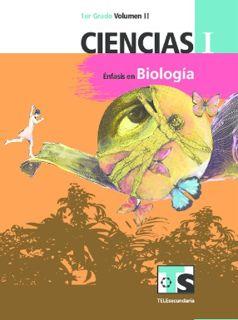 Ciencias I Énfasis en Biología primer grado Telesecundaria Ciclo Escolar 2015-2016