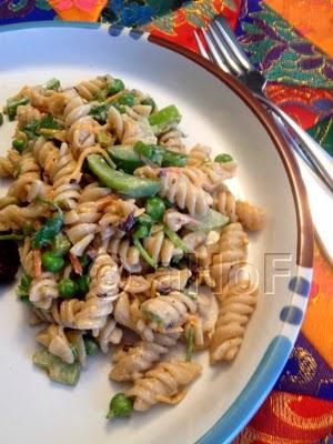 Pasta Salad using rotini