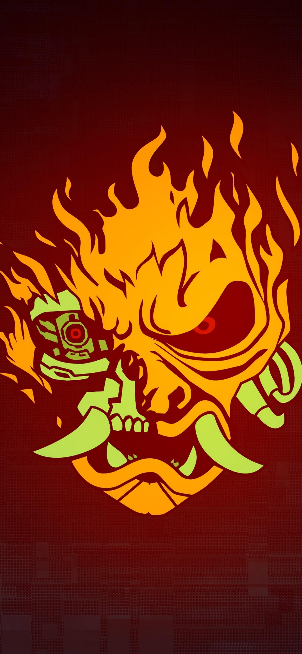 Cyberpunk 2077 Samurai Logo 4k Wallpaper 11