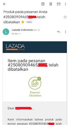 Cara Menolak Barang COD Lazada, Kirain di Banned